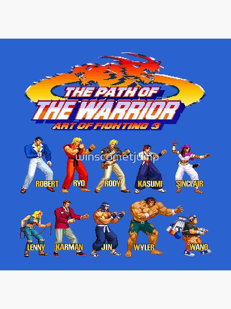 art of fighting 3 kasumi