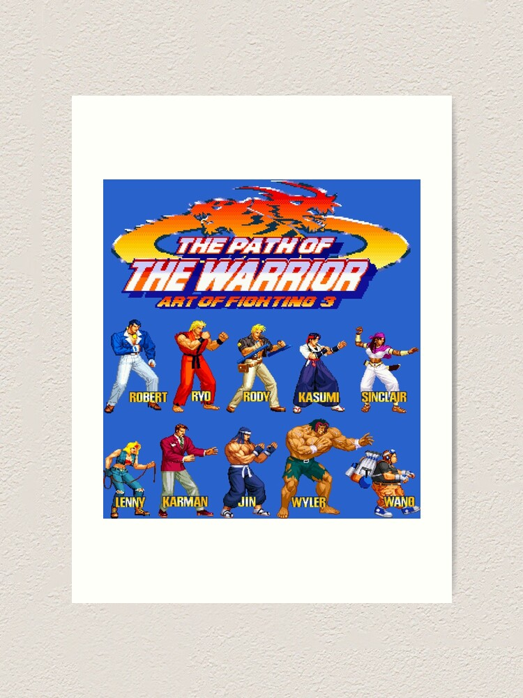 Art Of Fighting 3 The Path Of The Warrior Neo Geo Character