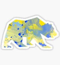 Bear Splatter Sticker