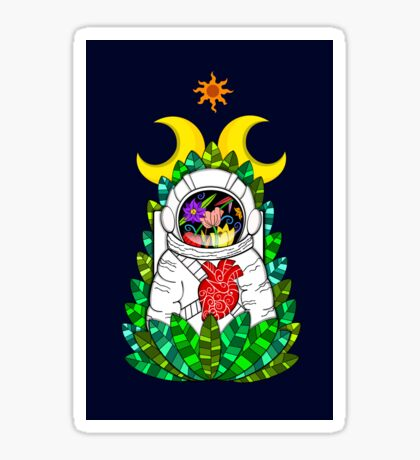 Nature of space Sticker