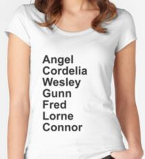 Angel Cast Women's Fitted Scoop T-Shirt