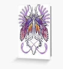 Mab the Queen of Fey (purple) Greeting Card