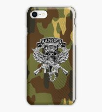 1st Ranger Bn camo (iPhone case) iPhone Case/Skin