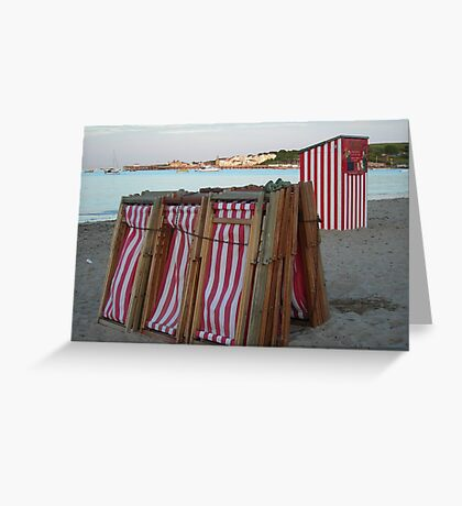 I Got Stripes Greeting Card