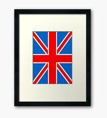 Union Jack Flag,Great Britain, England,Scotland, Wales, Northern Ireland, Country , Punk, Mod Framed Print