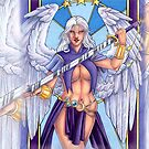 Sword Dancer Angel Iphone Cover V. 2 by cybercat
