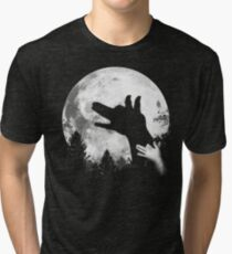 Bark At The Moon! Tri-blend T-Shirt