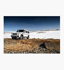 Mercedes G Wagen Photographic Print