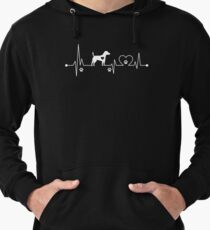 Heartbeat Dog Jack Russell Terrier Lightweight Hoodie