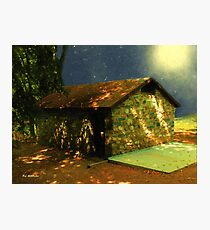 Mystery Cottage Photographic Print