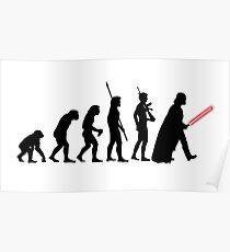 Darth Vader Evolution Poster