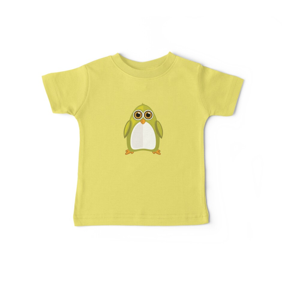 Yellow Green Penguin by Adamzworld