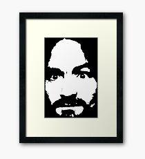 charles manson Framed Print