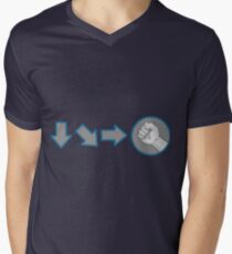 Special Combo Fight Move Men's V-Neck T-Shirt