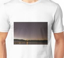 Startrail Above Miramar Lake Unisex T-Shirt