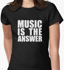 MUSIC IS THE ANSWER LOGO T-Shirt