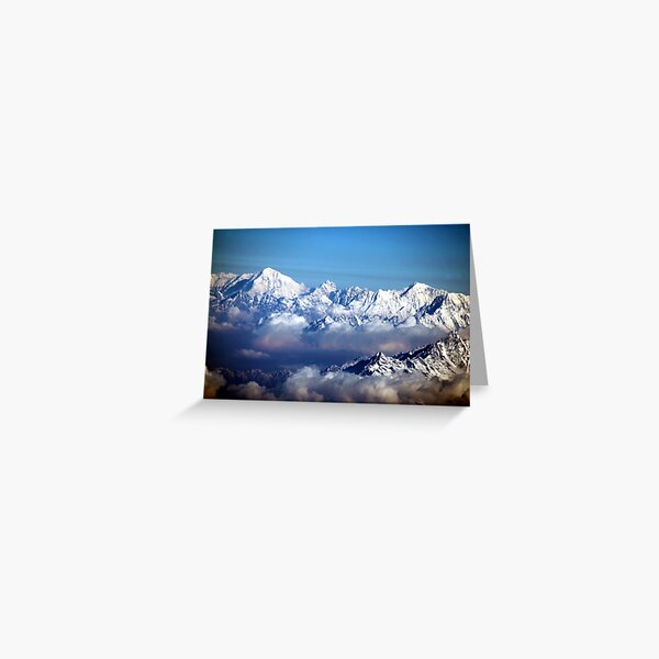 The Himalayas and Mount Everest Greeting Card