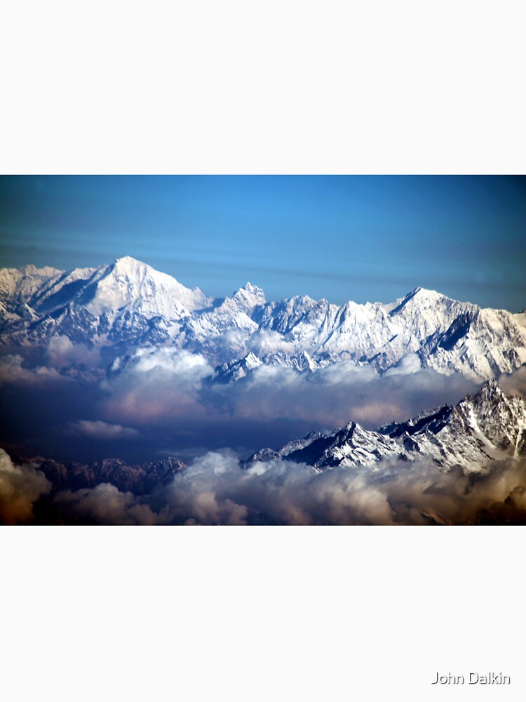 The Himalayas and Mount Everest by JohnDalkin