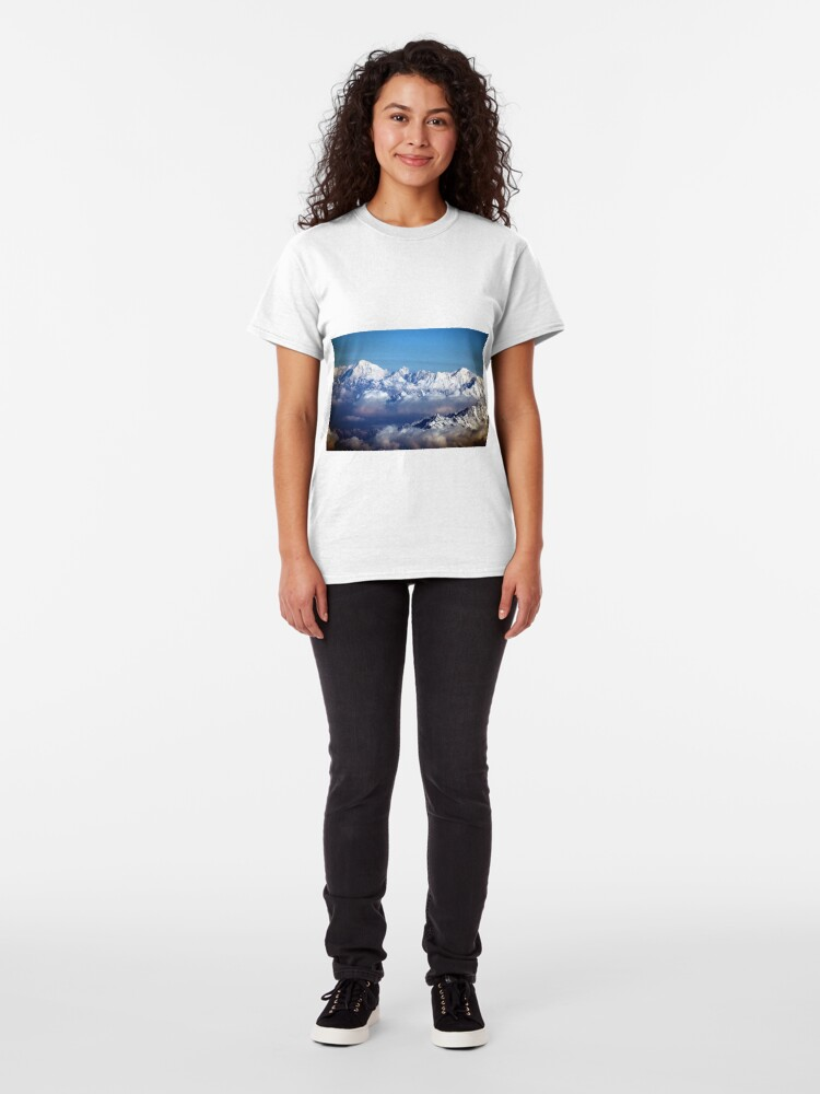Alternate view of The Himalayas and Mount Everest Classic T-Shirt