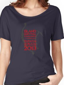Island Survival Challenge 2013 Women's Relaxed Fit T-Shirt
