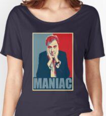 Maniac! Jeremy Clarkson Women's Relaxed Fit T-Shirt
