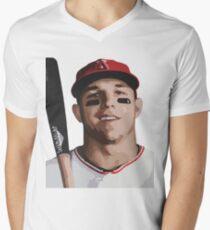 mike Mens V-Neck T-Shirt