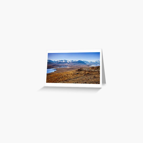 Lake Alexandrina Greeting Card