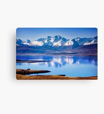 Lake Tekapo Reflections Canvas Print