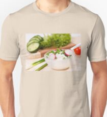 cottage cheese with radish Unisex T-Shirt