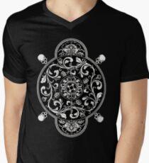 EP. HYPNOTICSKULL II Men's V-Neck T-Shirt