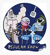 REGULAR SHOW Photographic Print