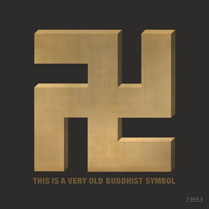 Buddhist Swastika Posters By 73553 Redbubble