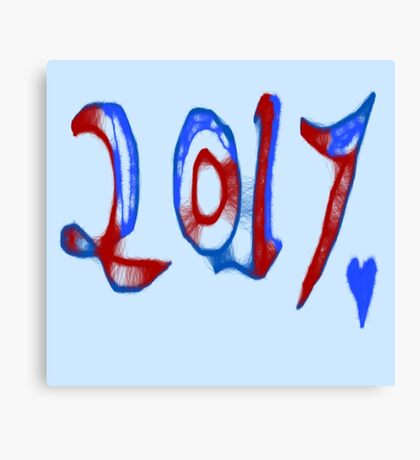 2017 Time to Celebrate Canvas Print