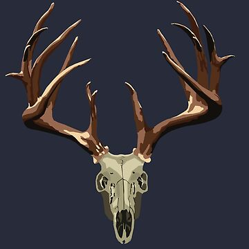 Deer Skull Design by KnightsOfShame