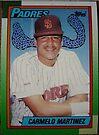 235 - Carmelo Martinez by Foob's Baseball Cards