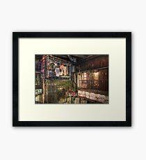 Utopia- Kowloon Walled City Framed Print