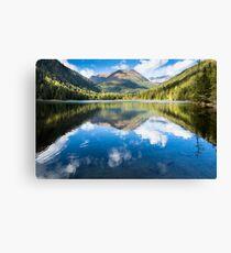 Alpine Lake Canvas Print