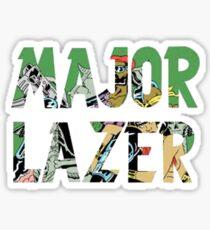 Major Lazer Sticker