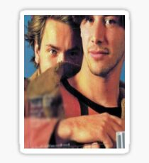 Keanu & River Sticker