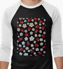Sixties Flashback Men's Baseball ¾ T-Shirt