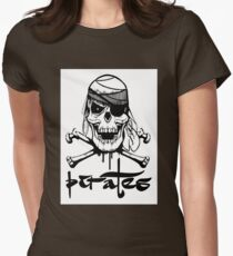 Pirates Womens Fitted T-Shirt