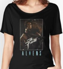 Aliens - Ripley & Newt Women's Relaxed Fit T-Shirt