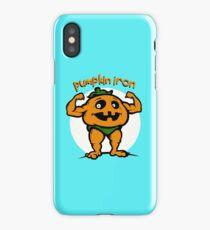 Pumpkin Iron iPhone Case/Skin