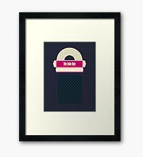 Juke Box Framed Print