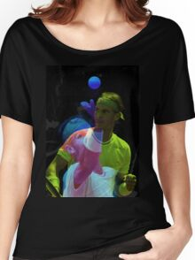 Rafael Nadal double color exposure Women's Relaxed Fit T-Shirt
