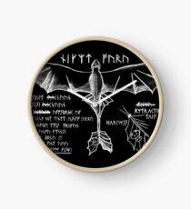 Dragon Flying 101 Clock