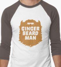 Ginger Beard Man Tee Men's Baseball ¾ T-Shirt