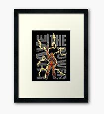 He-Man Powerful Guy Framed Print