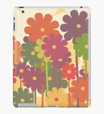floral background iPad Case/Skin