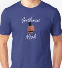 Gentlemans nipple Unisex T-Shirt